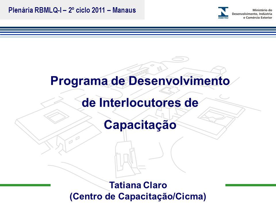 Programa de Desenvolvimento de Interlocutores de Capacitação