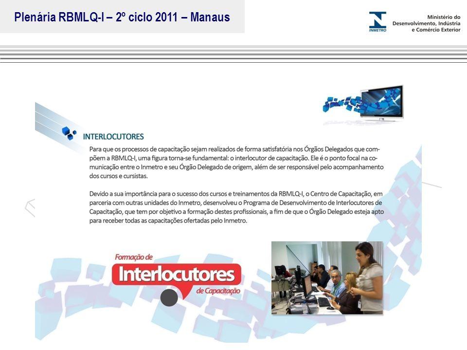 Plenária RBMLQ-I – 2º ciclo 2011 – Manaus