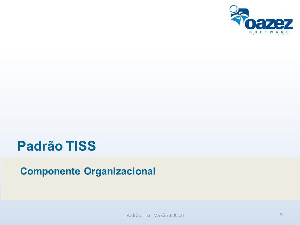 Padrão TISS Componente Organizacional Padrão TISS - Versão 3.00.00