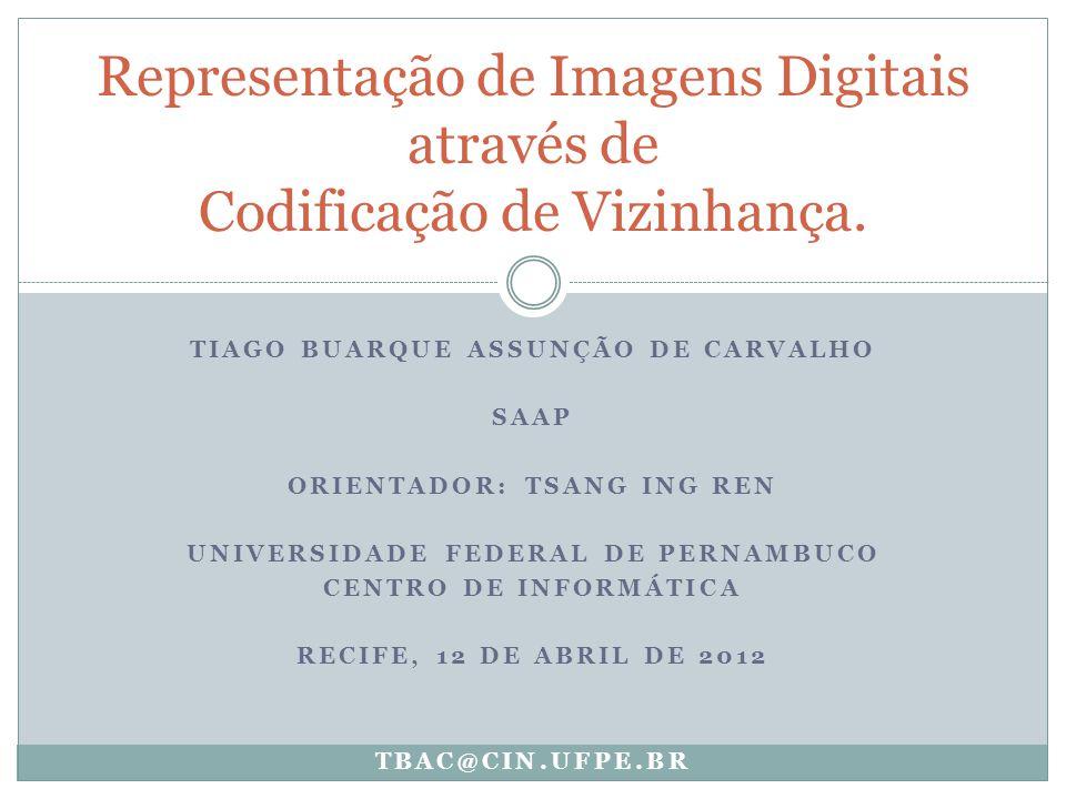 Representação de Imagens Digitais através de Codificação de Vizinhança.