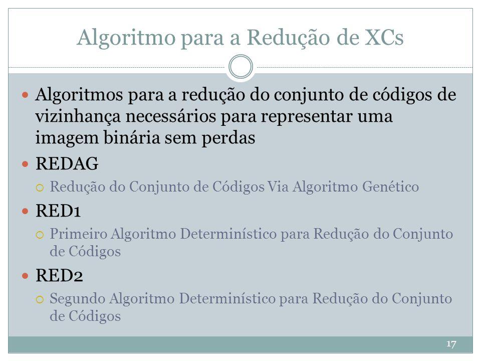 Algoritmo para a Redução de XCs