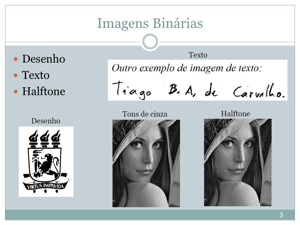 Imagens Binárias Desenho Texto Halftone Texto Tons de cinza Halftone