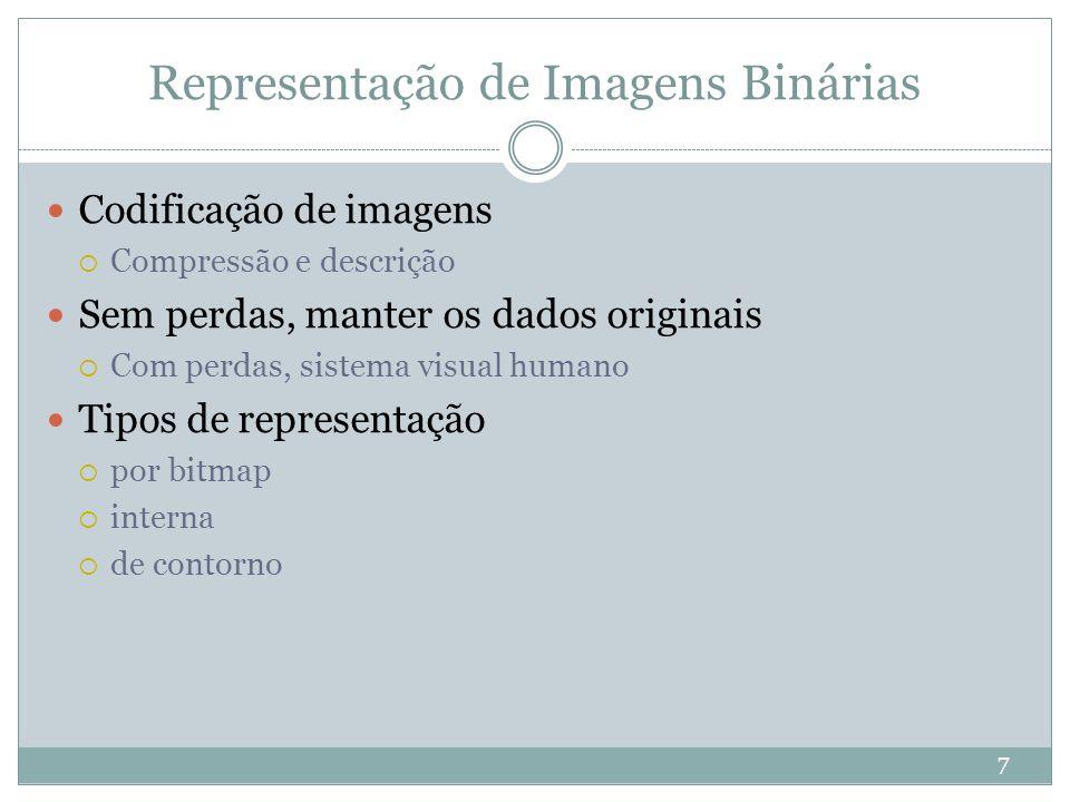 Representação de Imagens Binárias