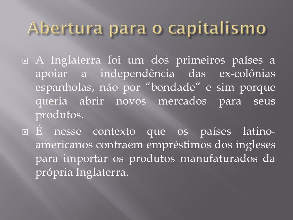 Abertura para o capitalismo