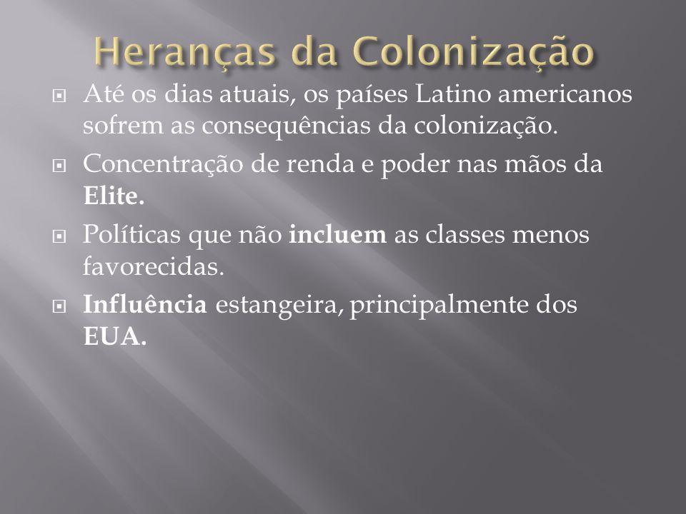 Heranças da Colonização