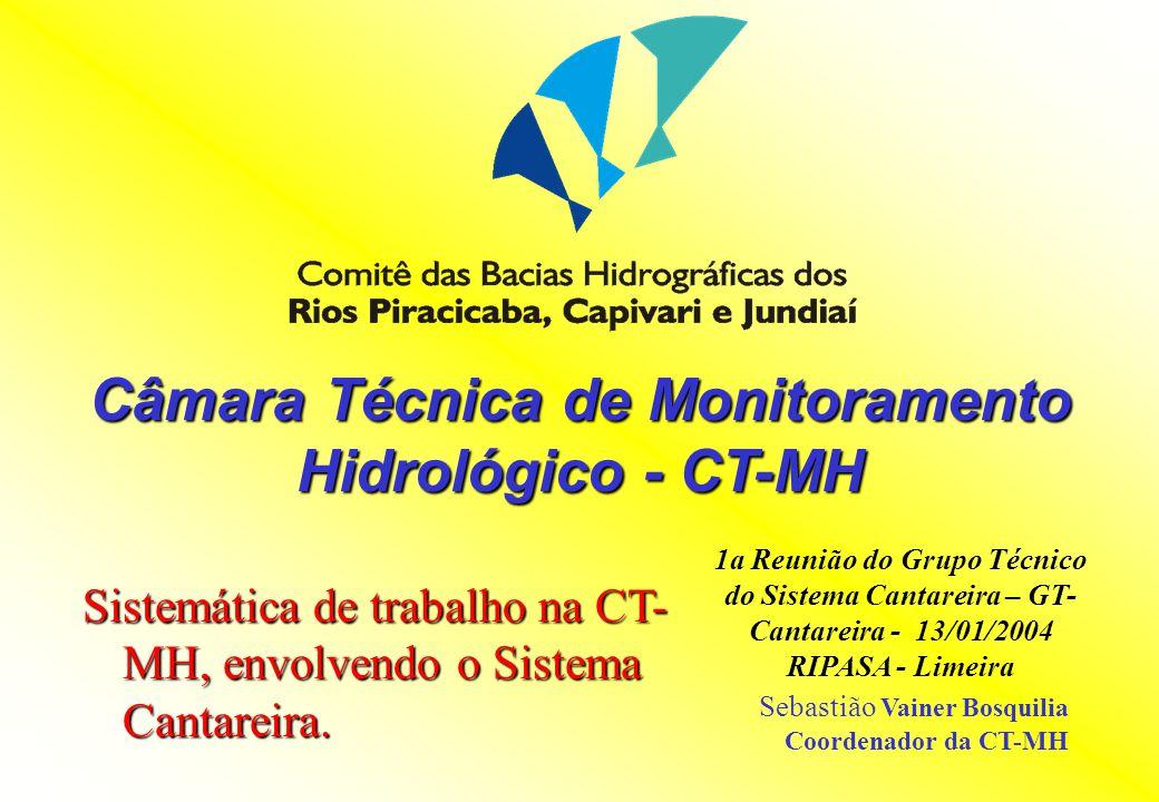 Câmara Técnica de Monitoramento Hidrológico - CT-MH