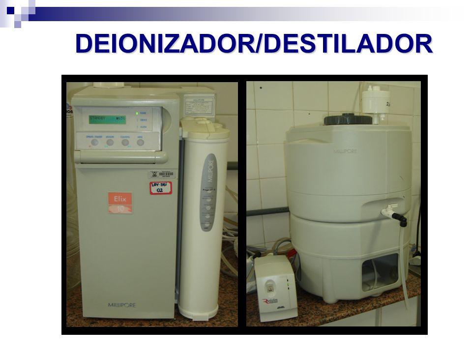 DEIONIZADOR/DESTILADOR