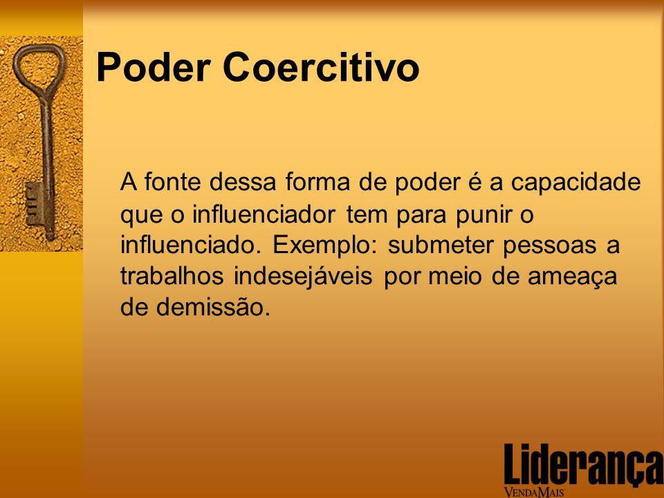 Poder Coercitivo