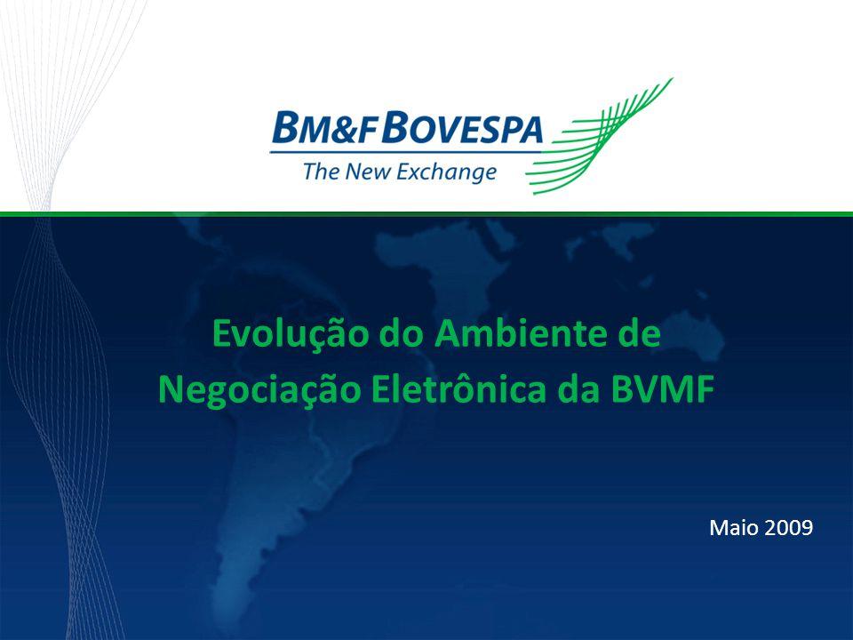 Evolução do Ambiente de Negociação Eletrônica da BVMF