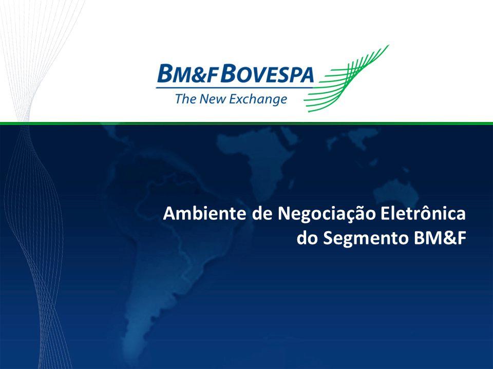 Ambiente de Negociação Eletrônica do Segmento BM&F