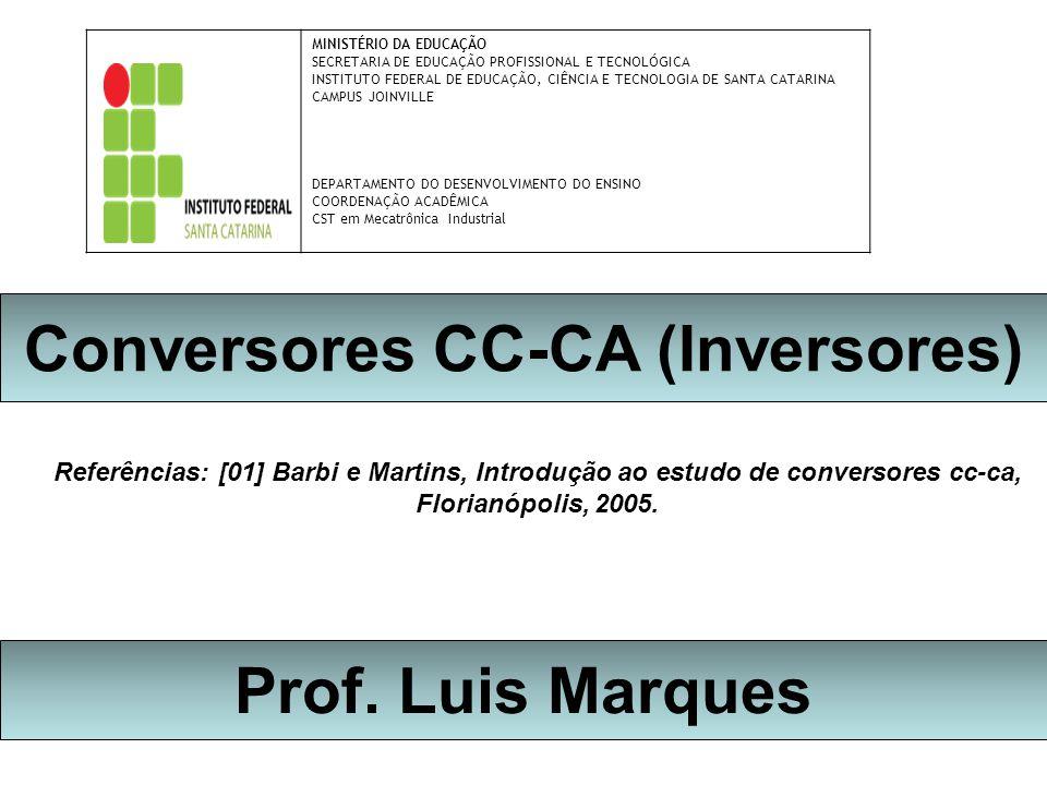 Conversores CC-CA (Inversores)