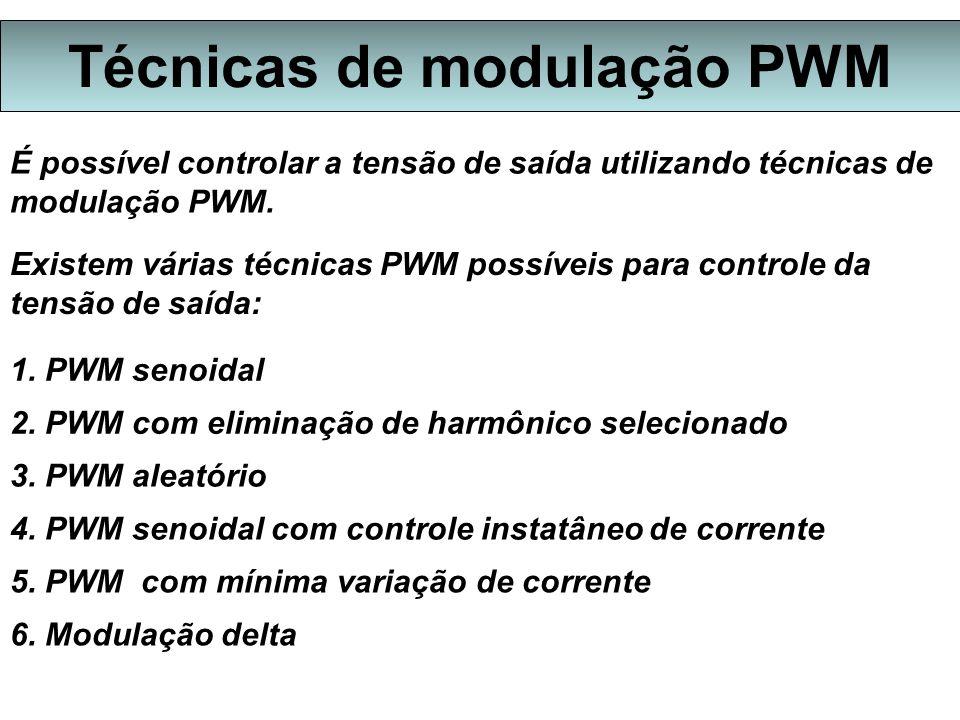 Técnicas de modulação PWM