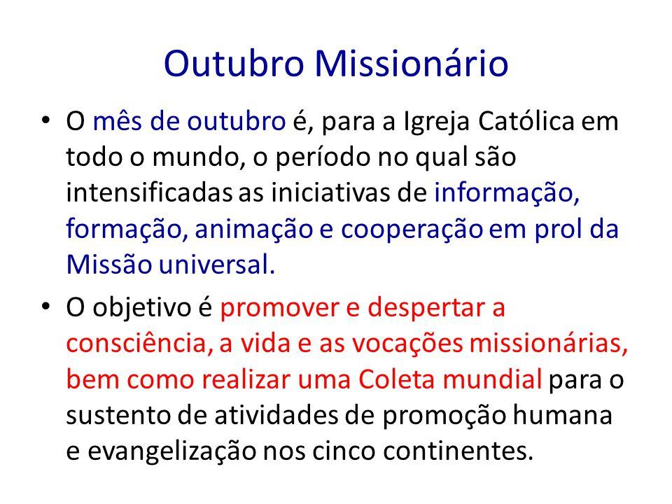 Outubro Missionário