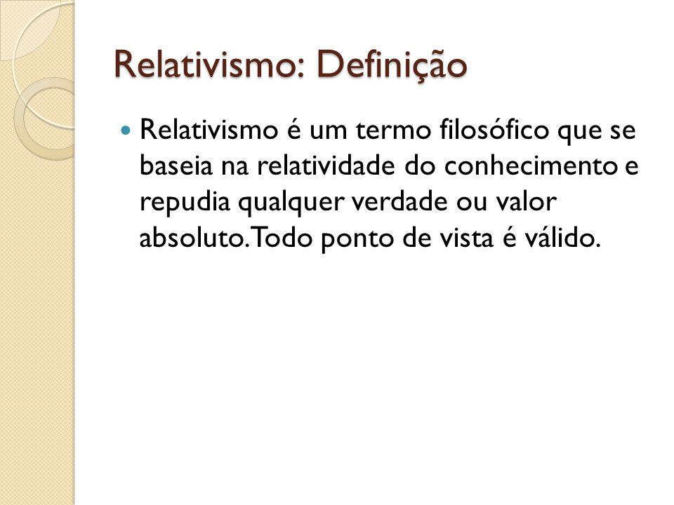 Relativismo: Definição