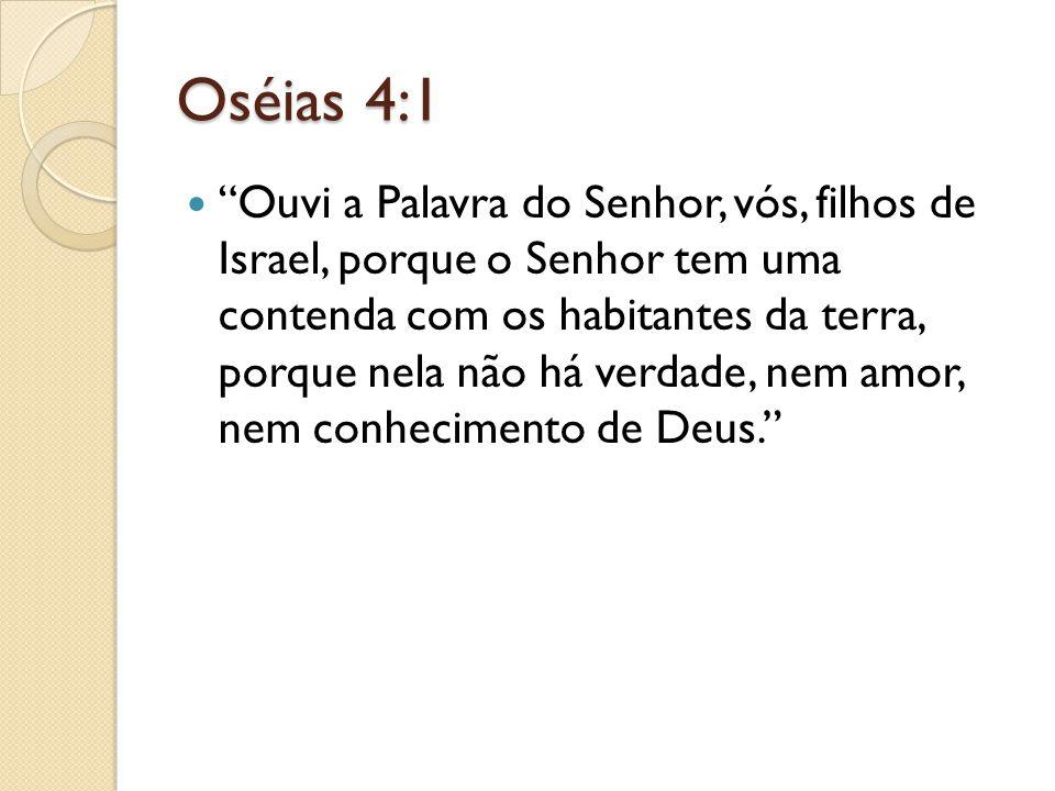 Oséias 4:1