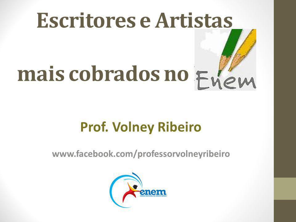 Escritores e Artistas mais cobrados no ENEM