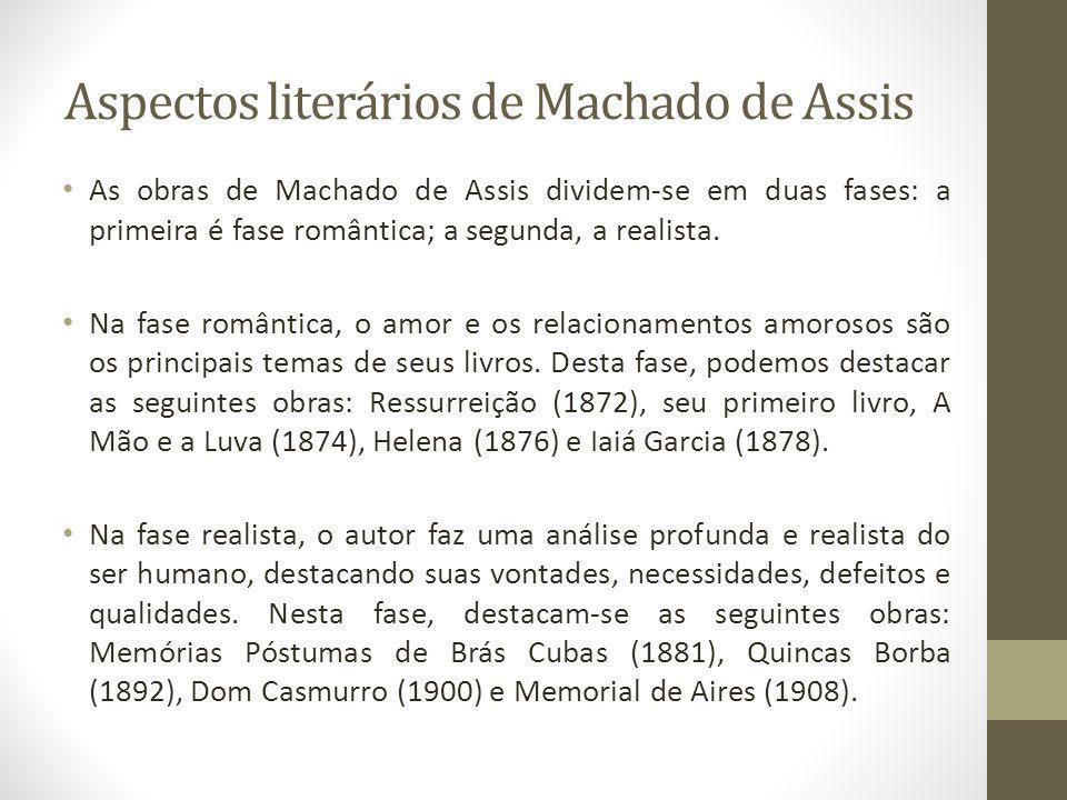 Aspectos literários de Machado de Assis