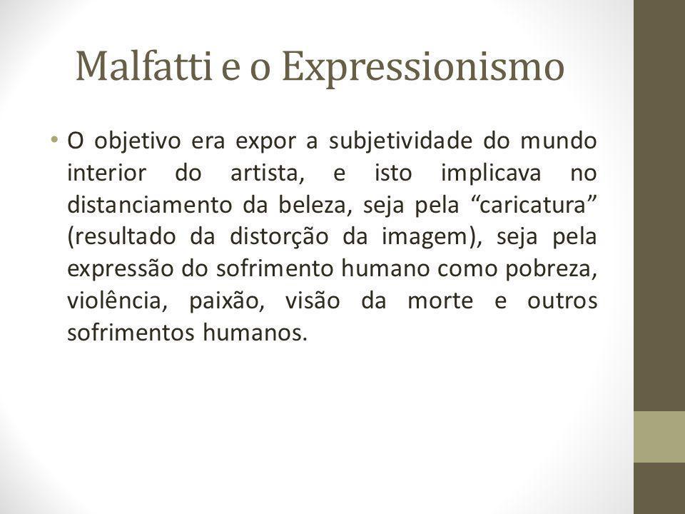 Malfatti e o Expressionismo