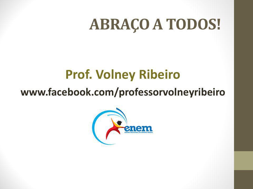 ABRAÇO A TODOS! Prof. Volney Ribeiro