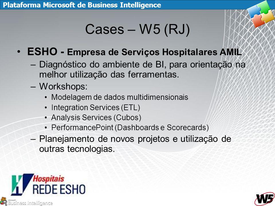 Cases – W5 (RJ) ESHO - Empresa de Serviços Hospitalares AMIL