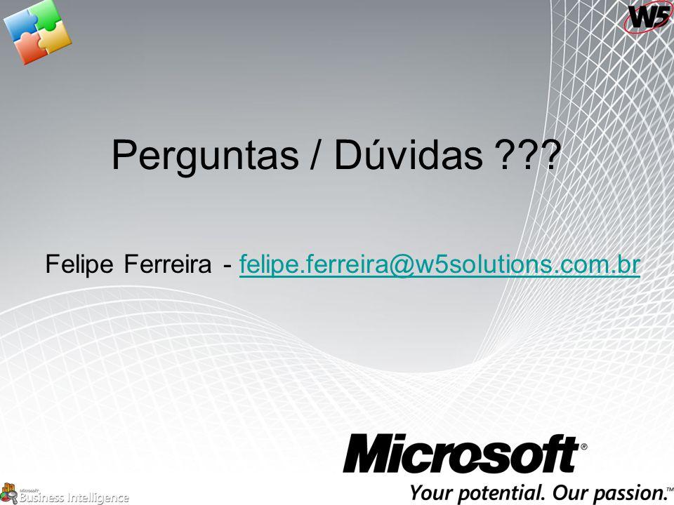 Felipe Ferreira - felipe.ferreira@w5solutions.com.br