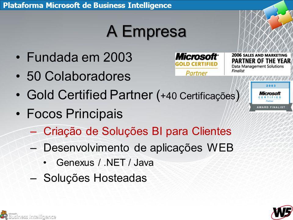A Empresa Fundada em 2003 50 Colaboradores