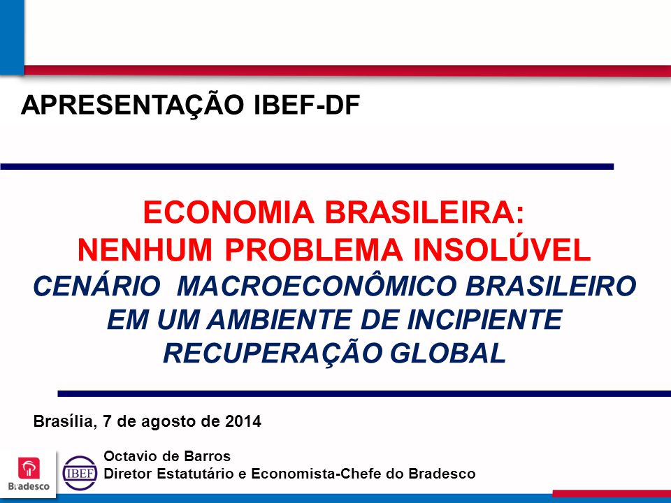 APRESENTAÇÃO IBEF-DF