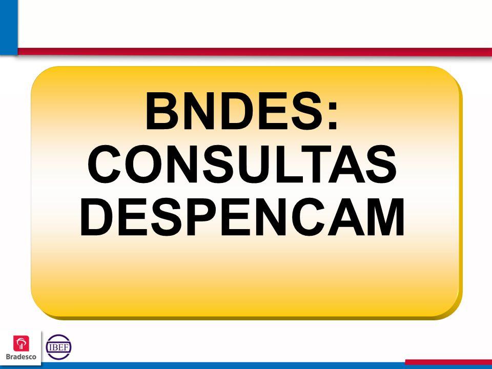 BNDES: CONSULTAS DESPENCAM