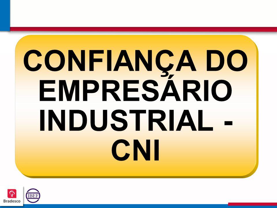 CONFIANÇA DO EMPRESÁRIO INDUSTRIAL - CNI