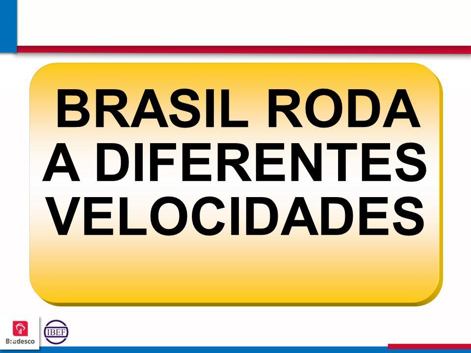 BRASIL RODA A DIFERENTES VELOCIDADES