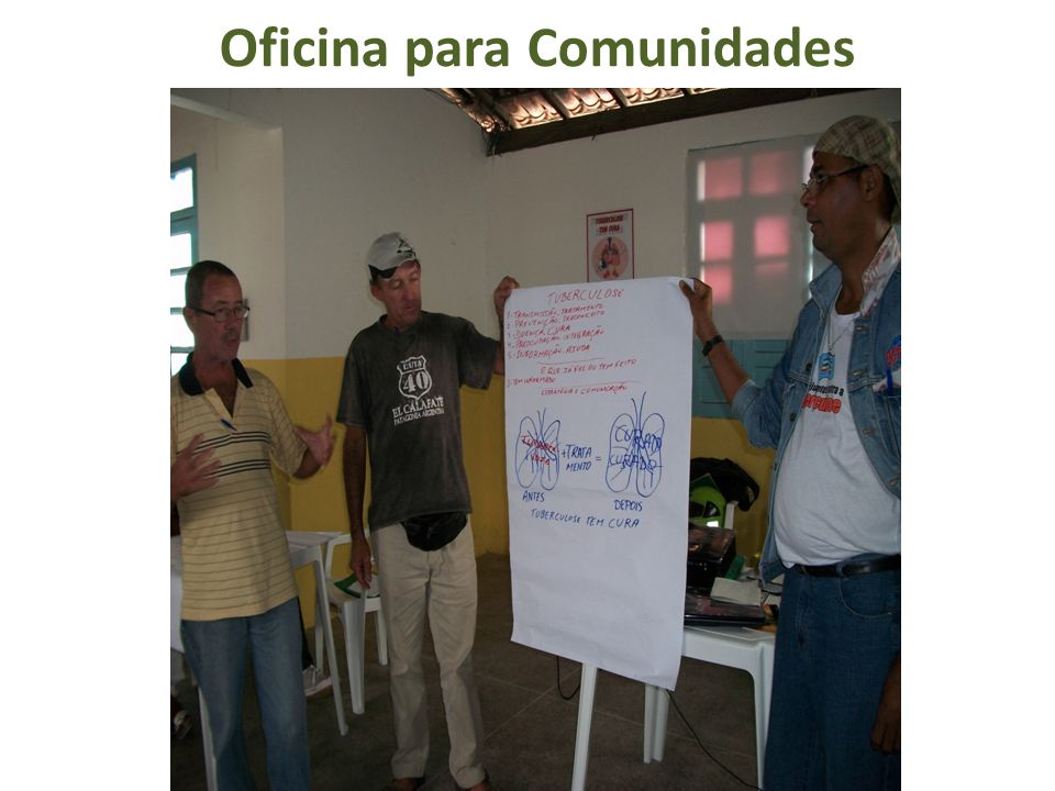 Oficina para Comunidades