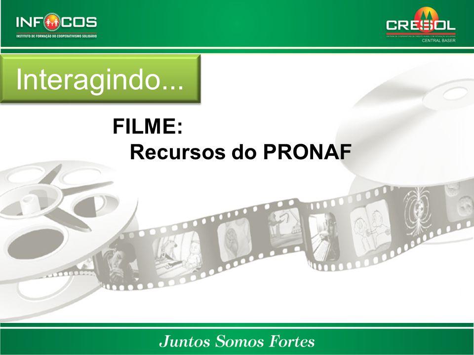 Interagindo... FILME: Recursos do PRONAF