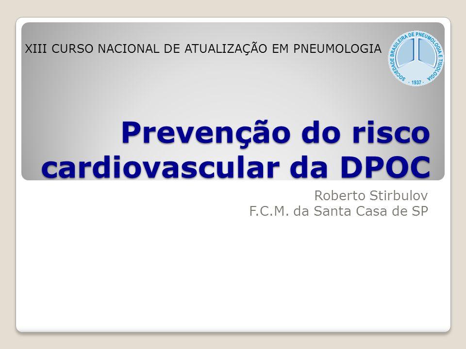 Prevenção do risco cardiovascular da DPOC