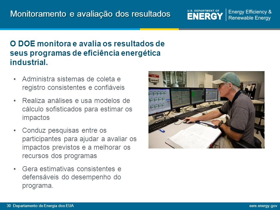 Monitoramento e avaliação dos resultados
