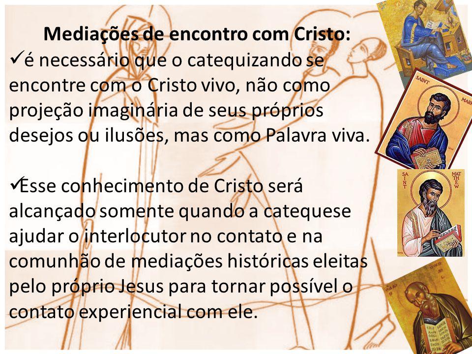 Mediações de encontro com Cristo:
