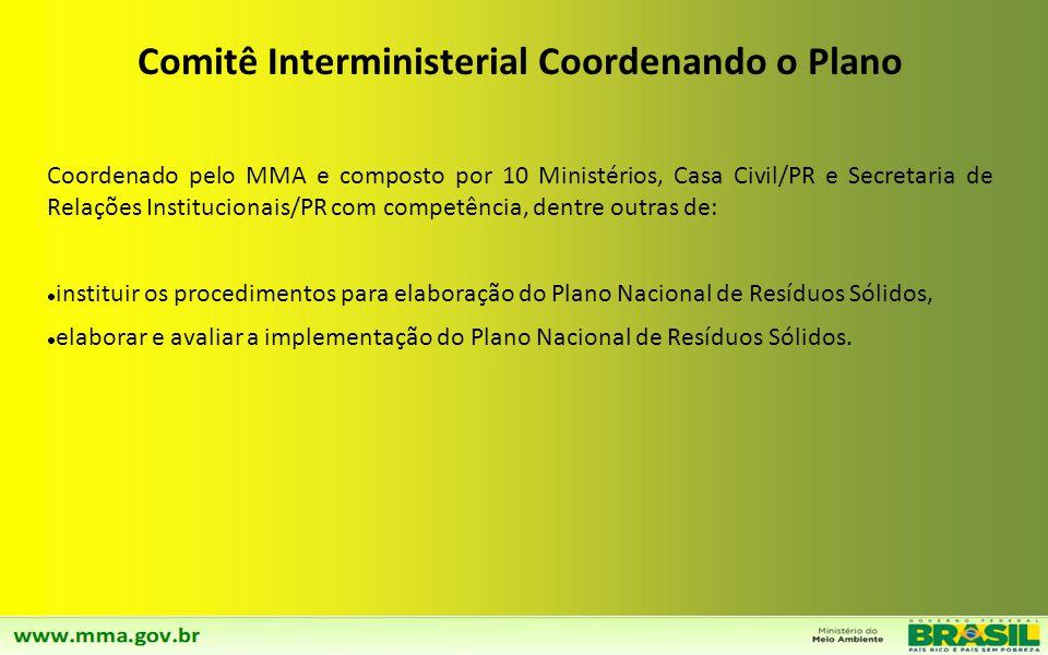 Comitê Interministerial Coordenando o Plano