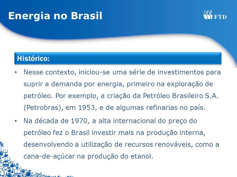 Energia no Brasil Histórico: