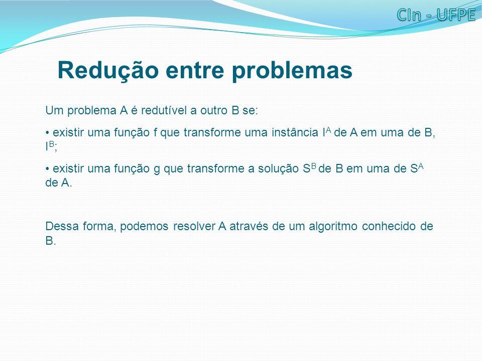 Redução entre problemas