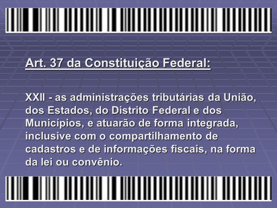 Art. 37 da Constituição Federal: