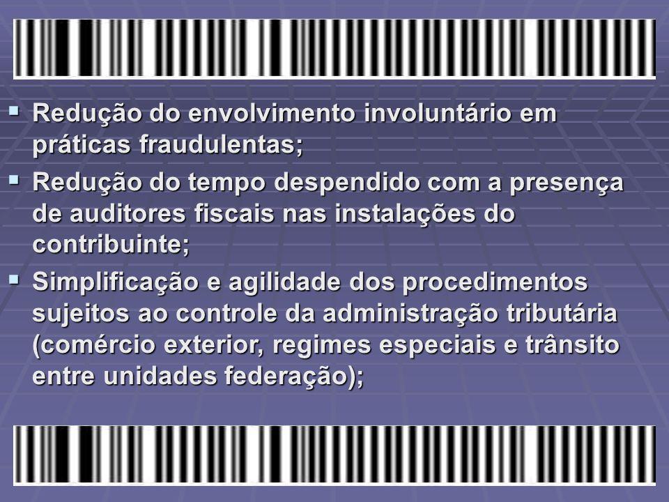 Redução do envolvimento involuntário em práticas fraudulentas;