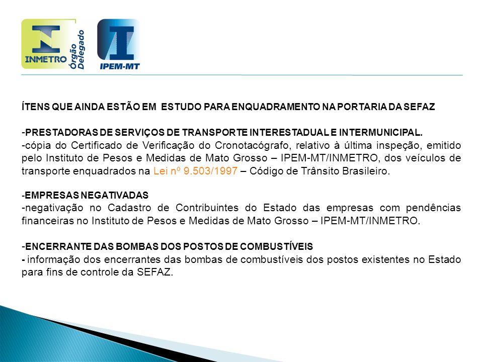 -PRESTADORAS DE SERVIÇOS DE TRANSPORTE INTERESTADUAL E INTERMUNICIPAL.