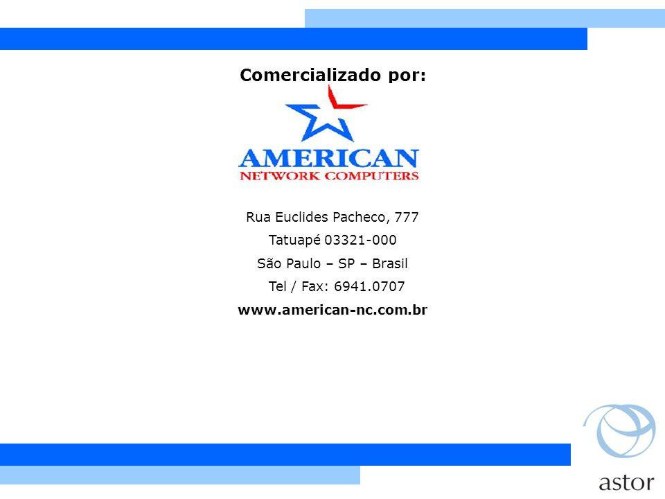 Comercializado por: Rua Euclides Pacheco, 777 Tatuapé 03321-000
