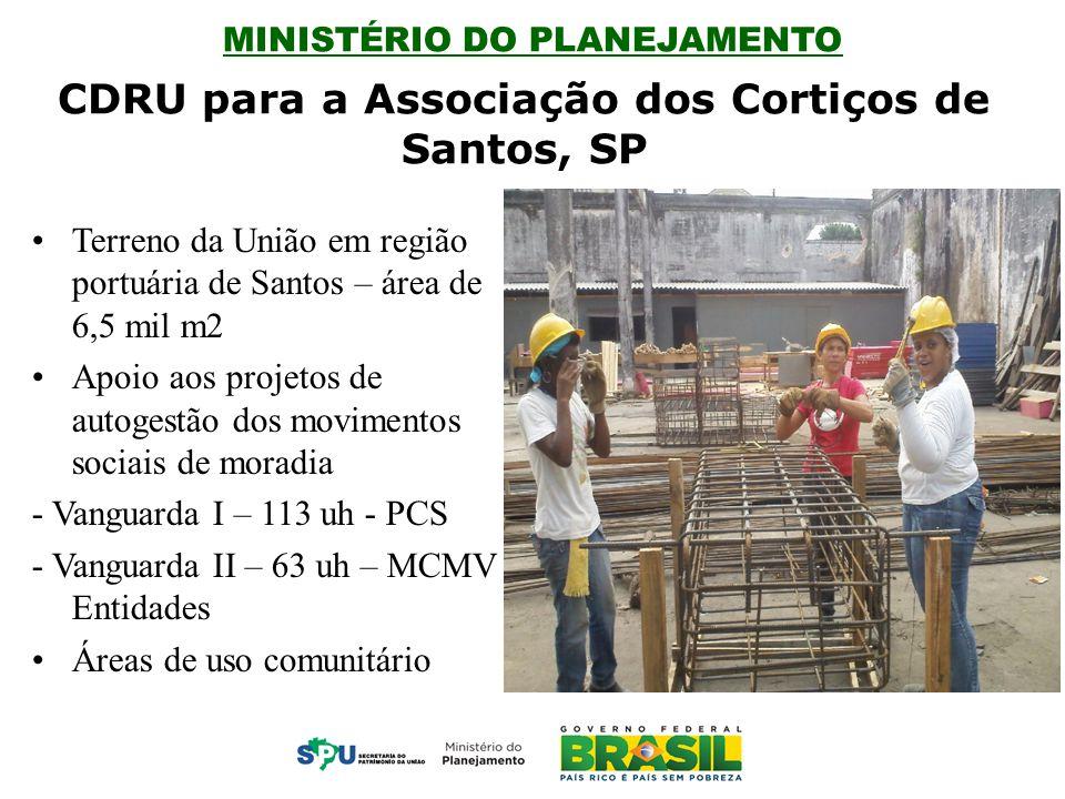 CDRU para a Associação dos Cortiços de Santos, SP