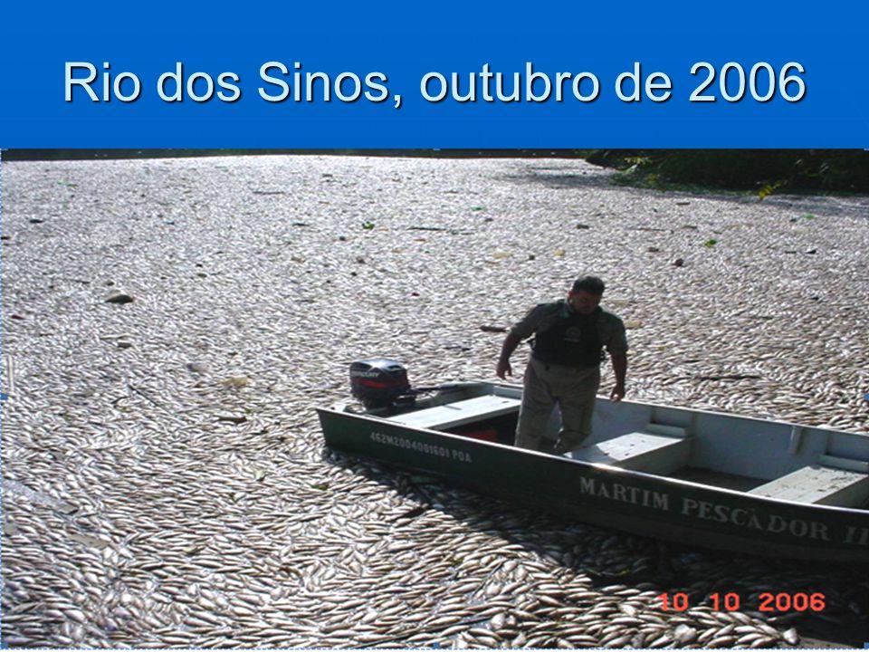 Rio dos Sinos, outubro de 2006