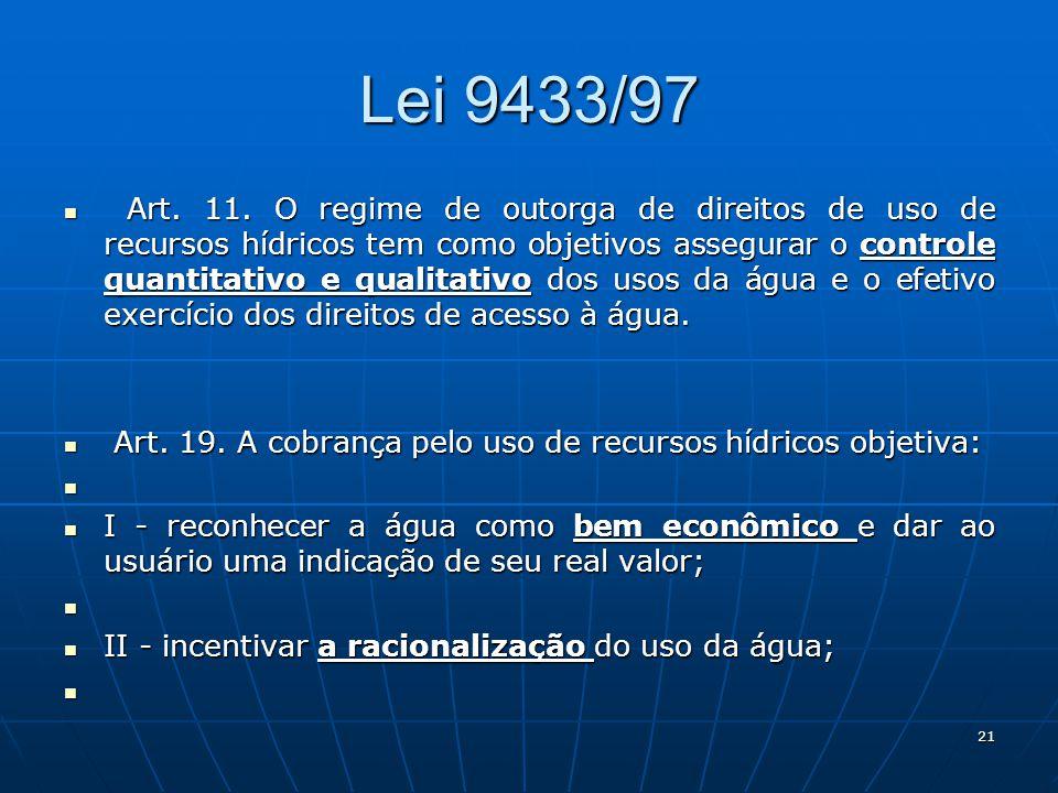 Lei 9433/97