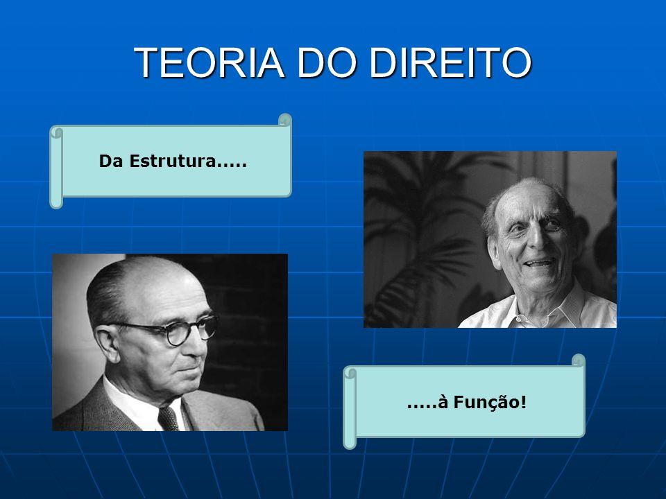 TEORIA DO DIREITO Da Estrutura..... .....à Função!