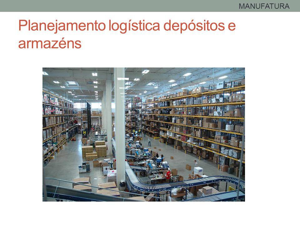 Planejamento logística depósitos e armazéns