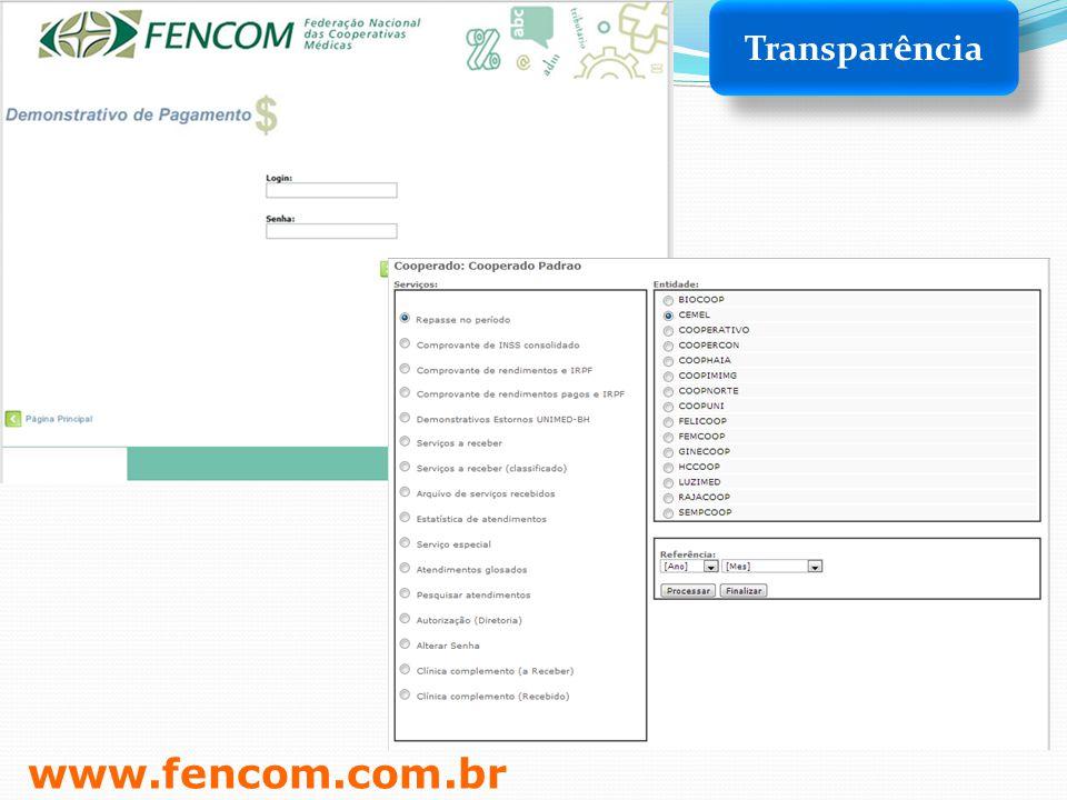 Transparência www.fencom.com.br