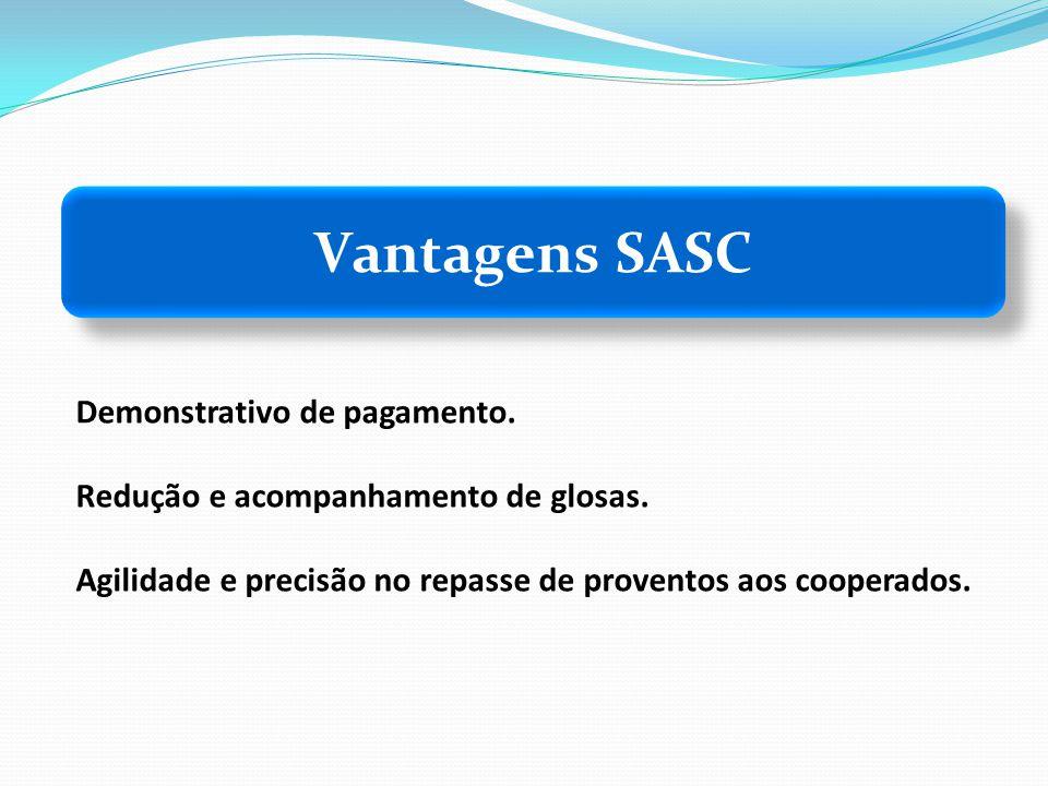 Vantagens SASC Demonstrativo de pagamento.