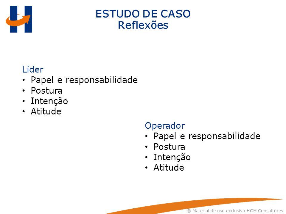 ESTUDO DE CASO Reflexões